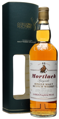 Mortlach Scotch Single Malt 15 Year By Gordon & Macphail